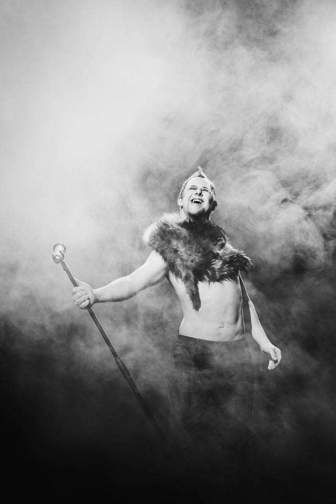Rockstjärnan, ur Ikoner - en utställning om att få finnas, ett samarbete mellan Fotografiska och Glada Hudik-teatern. Foto: Emma Svensson.
